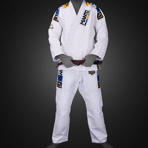 Manto Manto Champ 3.0 White BJJ Gi